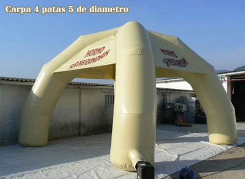 inflatables tent, custom made products, custom made inflatable products