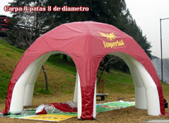 manufacture of tents