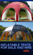 inflatable advertising tents