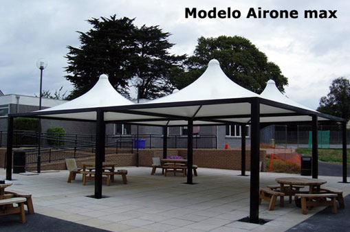 tents airone max, custom made products