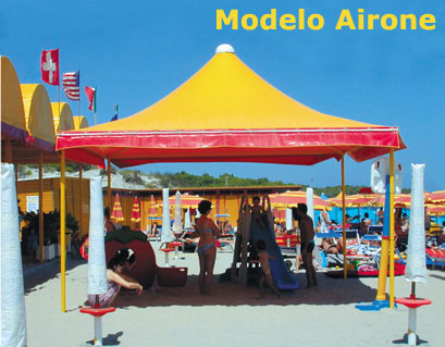 airone tent, custom made products