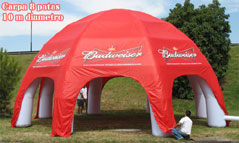 giant inflatable tents, custom made products