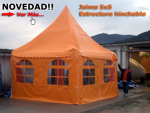 inflatable tents, custom made products