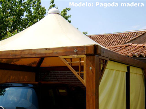 pagoda wood tent, custom made products