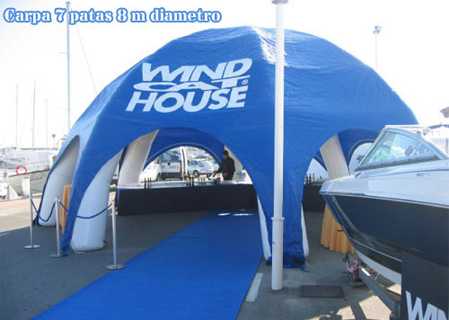 inflatable tents, custom made products, custom made inflatable products