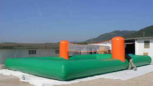 inflatable VolleyBall pitch